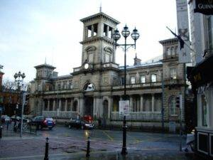 Connolly Railway Station in Dublin