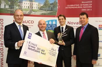 Inaugural UCD VentureLaunch Accelerator Award Won