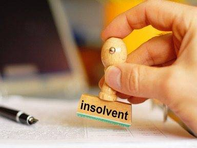 insolvent