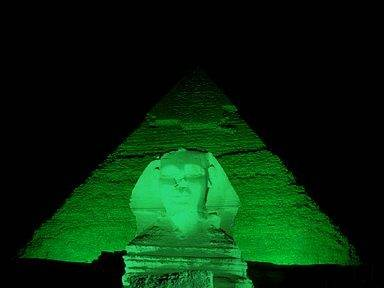 Pyramids of Giza to go green on St Patrick's Day