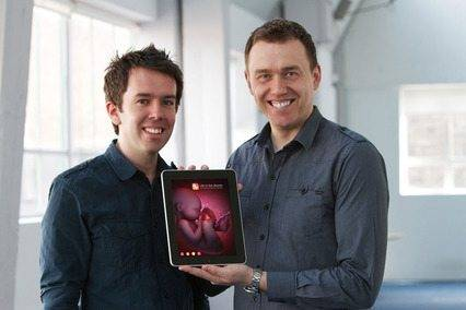 Life in the Womb app receives 2014 World Summit Award Michael Grant and Eoin Winston, co-founders of The Science Picture Company