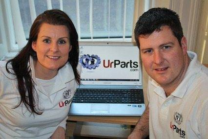 Sonya and Simon Fitzpatrick, co-founders of UrParts.com