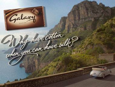 Galaxy launches new advertising campaign starring Audrey Hepburn