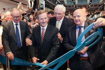 Taoiseach opens Primark's Alexanderplatz store in Berlin