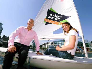 Tony O'Reilly and Annalise Murphy