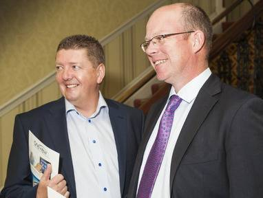 James Fitter, CEO and Mark McCloskey, founder and president