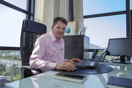 Agile Networks managing director Darragh Richardson