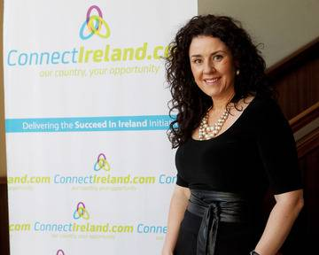 Joanna Murphy, chief operating officer of ConnectIreland