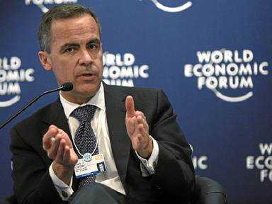 Mark Carney at WEF in Davos