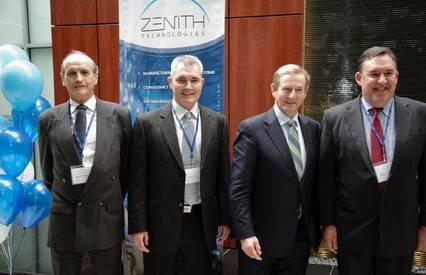Taoiseach opens Zenith Technologies' new US HQ