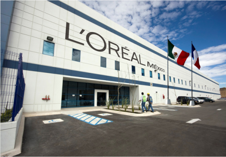 L'Oréal largest hair colour plant